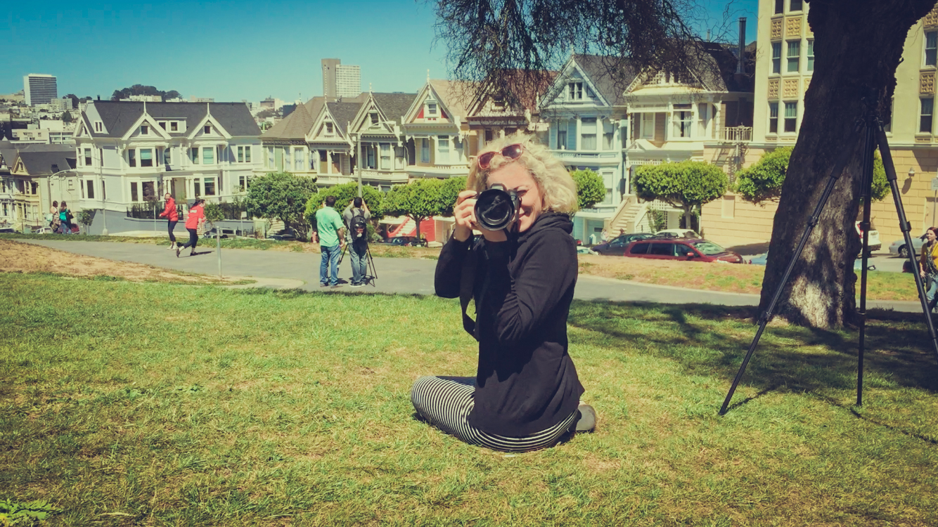 Alamo Square Park, San Francisco - Turkish Airlines Photoshoot